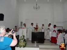Inauguração da Igreja do Cristo Redentor